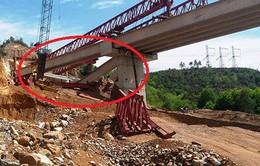 Sập 3 dầm cầu trên dự án cao tốc La Sơn-Túy Loan do lỗi của nhà thầu
