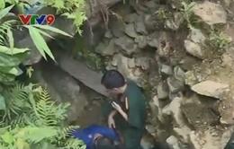 Vụ sập hầm vàng tại Thanh Hóa: Mưa lớn cản trở công tác cứu hộ