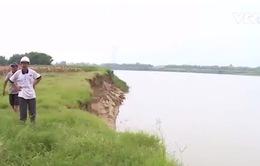 Quảng Nam: Sạt lở nghiêm trọng do hút cát lòng sông