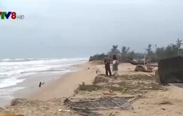Sạt lở nghiêm trọng bờ biển TT-Huế