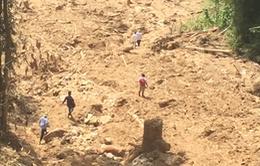 Nguy cơ cao tiếp tục xảy ra sạt lở tại Lào Cai