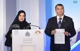 Các nữ Chủ tịch Quốc hội Thế giới ra Tuyên bố Abu Dhabi
