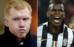 """Paul Scholes: """"Pogba không xứng đáng 100 triệu bảng"""""""