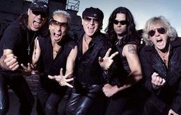Ban nhạc huyền thoại Scorpions gửi lời chào khán giả Việt Nam