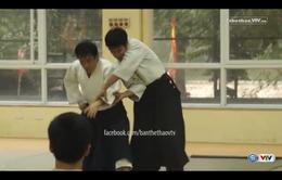 Chuyên gia Aikido Nhật Bản hỗ trợ nâng cao trình độ cho võ sinh Việt Nam