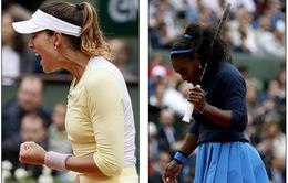 Highlight Serena Williams 0-2 (5-7, 4-6) Garbine Muguruza