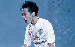 Than Quảng Ninh 0-1 Hà Nội T&T: Văn Quyết ghi bàn quyết định