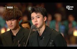 Lễ trao giải MAMA 2016: EXO ẵm giải Album của năm
