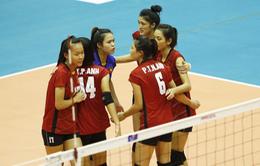 Tranh HCĐ giải bóng chuyền U19 nữ châu Á, Việt Nam thua Thái Lan 1-3