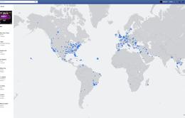 Khám phá thế giới qua Live Video trên bản đồ tương tác mới của Facebook