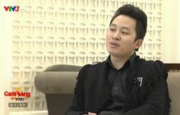 """Ca sĩ Tùng Dương tự nhận mình là ông bố """"bỉm sữa"""""""