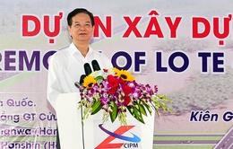Thủ tướng Nguyễn Tấn Dũng phát lệnh khởi công dự án tuyến Lộ Tẻ - Rạch Sỏi