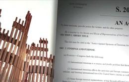 Dự luật 11/9 có thể gây rắc rối ngoại giao?