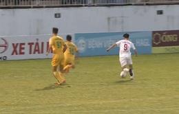 VIDEO: Van Bakel sai lầm, Văn Toàn ghi bàn ấn tượng giúp HAGL dẫn FLC Thanh Hoá 2-0