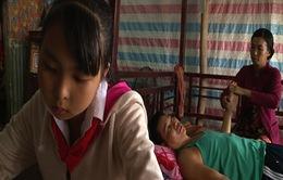 Nghị lực vượt khó của cô học trò nghèo Sóc Trăng
