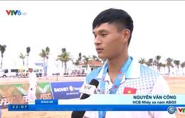 ABG 2016: Nguyễn Văn Công giành HCB nhảy xa nam