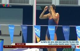 Olympic Rio 2016: Cận cảnh Ánh Viên khổ luyện trước ngày tranh tài
