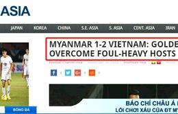 Báo chí châu Á: Lên án lối chơi thừa quyết liệt của ĐT Myanmar, Công Vinh được khen ngợi