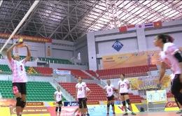 ĐT Indonesia làm quen địa điểm thi đấu tại VTV Cup 2016 - Tôn Hoa Sen