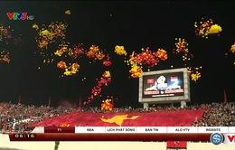 VIDEO: Những sắc màu ấn tượng của CĐV Việt Nam tại sân Mỹ Đình
