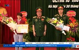 Quân đội tuyên dương các VĐV dự Olympic Rio 2016