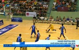 Hanoi Buffaloes và HCM City Wings khởi động mùa giải VBA 2016
