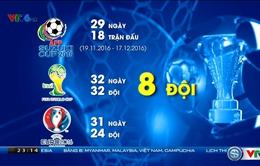 Những con số ấn tượng về AFF Suzuki Cup 2016