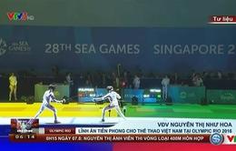 VĐV Nguyễn Thị Như Hoa lĩnh ấn tiên phong cho thể thao Việt Nam tại Olympic Rio 2016