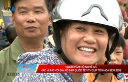 Khán giả Nghệ An hào hứng với giải xe đạp quốc tế VTV - Cúp Tôn Hoa Sen 2016