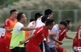 Vượt qua ĐHDL Hải Phòng, ĐH Hải Phòng giành chức vô địch Giải bóng đá Sinh viên toàn quốc 2016 - Cúp Viettel