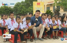 """Giải xe đạp quốc tế VTV Cúp Tôn Hoa Sen 2016: Chương trình """"Tôn Hoa Sen cùng em đi học"""" đến TP Huế"""