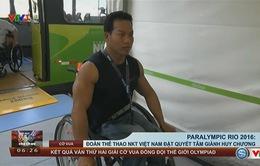 Paralympic Rio 2016: Đoàn thể thao NKT Việt Nam đặt quyết tâm giành huy chương