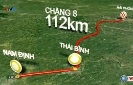 Lộ trình chặng 8 giải xe đạp quốc tế VTV - Cúp Tôn Hoa Sen 2016