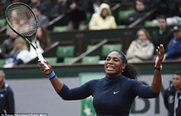 Serena nhận set thua đầu tiên tại Pháp mở rộng 2016