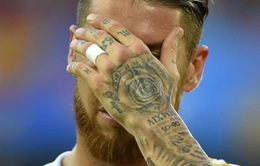 """Ramos khoe hình xăm mới ẩn ý """"gây bão"""""""