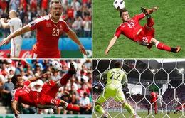 VIDEO: Chiêm ngưỡng 5 bàn thắng đẹp nhất EURO 2016