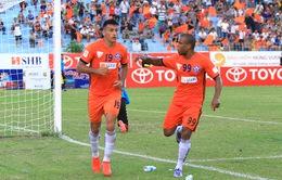 [KT] Vòng 25 V.League 2016: Hải Phòng đại thắng, Hà Nội T&T giành 3 điểm kịch tính