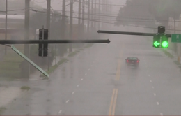 Siêu bão Matthew đổ bộ Mỹ, 6 người thiệt mạng