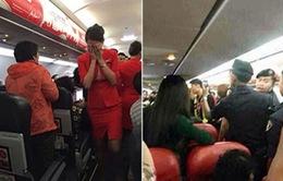 Thực trạng hành khách gây rối trên máy bay gia tăng
