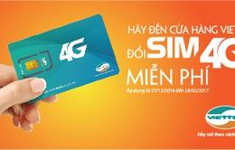Viettel chuẩn bị hơn 1.600 điểm đổi sim 4G miễn phí