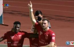 V.League 2016 vòng 18: Marko Simic ghi bàn, Long An đánh bại Sài Gòn!