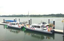 Singapore trang bị thêm tàu tuần tra cho cảnh sát bờ biển