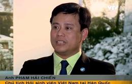 """""""Hội sinh viên Việt Nam tại Hàn Quốc được sự hỗ trợ rất lớn từ ĐSQ"""""""