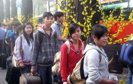 Hỗ trợ vé xe cho công nhân, sinh viên khó khăn về quê ăn Tết
