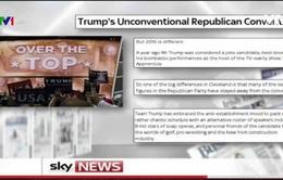 Đại hội toàn quốc Đảng Cộng hòa Mỹ - Sự kiện thu hút sự chú ý của báo chí quốc tế