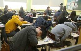 Tình trạng thiếu ngủ kéo dài của người dân xứ sở kim chi