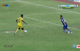 Tổng hợp trận đấu SLNA 1-0 FLC Thanh Hóa (Vòng 20 V.League)