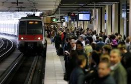 Lao động đường sắt Pháp đình công phản đối Luật lao động cải cách