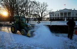 """Trận bão tuyết lịch sử ở Mỹ có thể """"nhấn chìm"""" Washington D.C"""