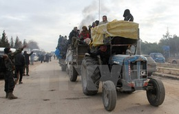 Phe nổi dậy Syria thông báo đạt thỏa thuận mới về sơ tán ở Aleppo